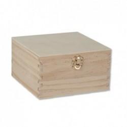 Ξύλινο κουτί 16 x 16 x 8,5 cm