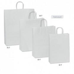 Τσάντα λευκή με στριφτό...